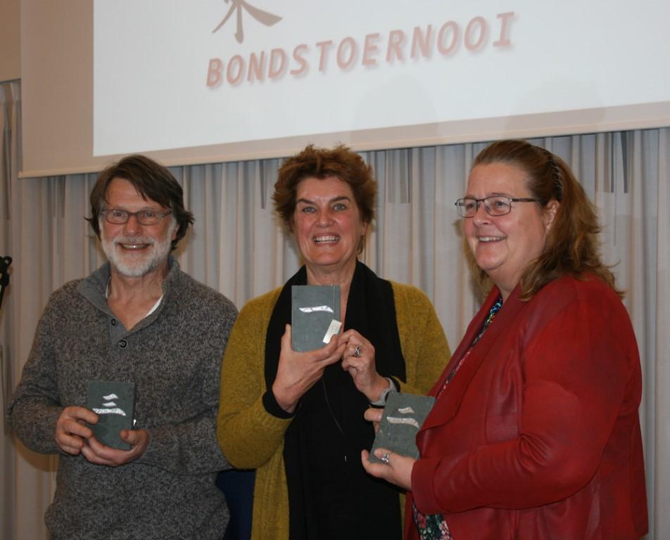 NMB Bondstoernooi 2017 Podium NTS