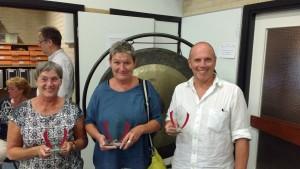 Annemieke Hesselink (2e) - Marianne Croeze (winnaar) - Ad van der Linden (3e)