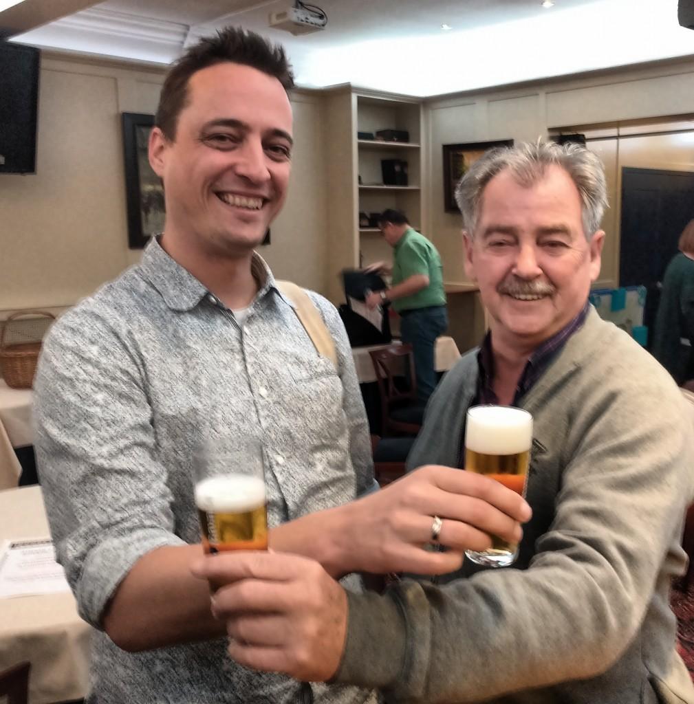 De kampioenen: Menno Deij (MCR-C, links) en Foppe Bakker (Riichi, rechts)